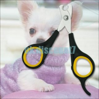 Pet Dog Cat Care Nail Clipper Scissors Grooming Trimmer
