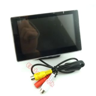 New 4 3'' TFT LCD Color Security Monitor Car Rear View Monitor Holder Sucker