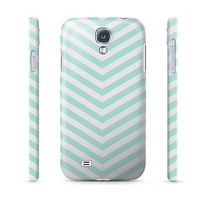 Chevron Mint Hard Cover Case for iPhone Samsung 65 Other Phones