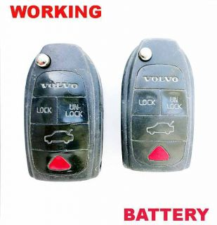 2 Lot Volvo 2003 08 S40 V40 Keyless Remote Key HYQ12BBM