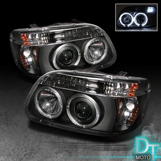 95 01 Ford Explorer Projector 2in1 Head Lights Corner