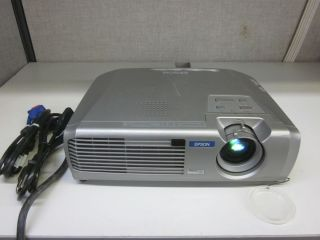 Epson PowerLite 54C EMP 54 LCD Home Theater Projector w Power VGA Cables 010343848542