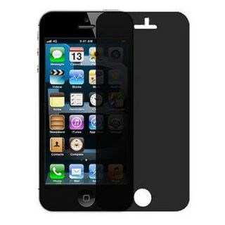 Privacy Anti Spy LCD Screen Protector Guard Shield Film for Apple iPhone 5 5g