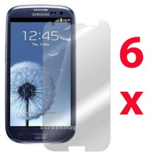 6X Anti Glare Matte Screen Protector Cover for Samsung Galaxy S3 III i9300 T999