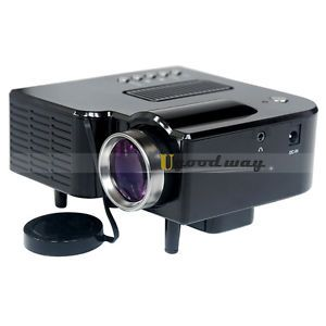 New Mini Projector LED Projectors LCD Display Laptop Pocket Multimedia HDMI Port