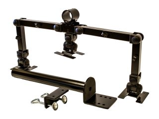 Triple LCD 3 Monitor Stand Desk Mount Heavy Duty Fully Adjustable Up to 28""