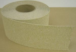 "2"" x 58' Roll Anti Slip Non Skid Grit Grip Stair Step Floor Safety Tape Beige"