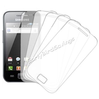 5 x Clear LCD Screen Protector Cover Film for Samsung Galaxy Ace S5830