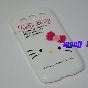 Samsung Galaxy s III i9300 Hello Kitty C Phone Case Clean Screen Protector