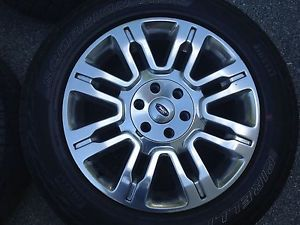 2012 Ford F150 Platinum 20 inch Wheels with Tires and Sensors