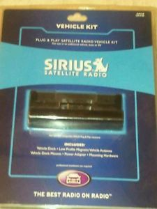 Sirius Satellite Radio Plug Play Vehicle Kit