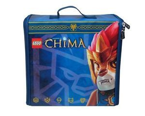 Lego Legends of Chima Zip Storage Case and Battle Play Mat Travel Bag Carrycase