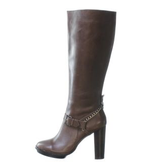 ABS Allen Schwarts Shake Up Knee High Boot Brown 10