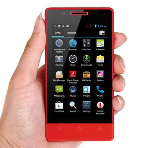 "Android 3G Smartphone Unlocked 4"" Dual Sim Camera GPS Cell Phone for T Mobile US"