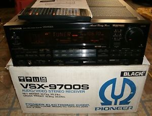 Used Pioneer VSX 9700s Audio Video Stereo Receiver