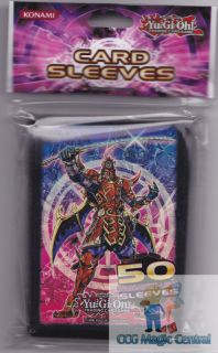 Yugioh Konami Legendary Six Samurai Card Sleeves Deck Protectors for Yugioh Card
