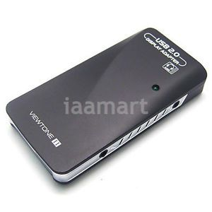 External Video Graphic Card USB to DVI VGA HDMI 1920 1080p Display Audio Win7