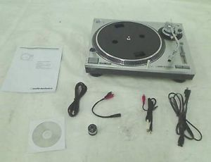 Audio Technica at LP120 USB Direct Drive Professional Turntable USB Analog