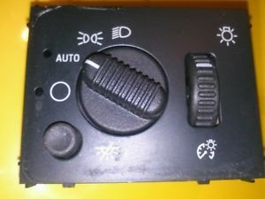 02 03 04 05 Tahoe Silverado GMC Chevy Headlight Switch OEM 15176678