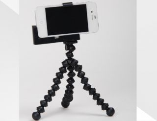 Flexible Octopus Tripod Gorillapod Holder Stand Mount for Apple iPhone 5 4S 4