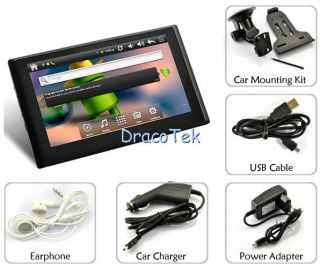 Cybernav Advanced 7 inch Android 2 3 Tablet GPS Navigator All Winner A10 1GHz