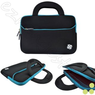 "Black Blue Sleeve Handle Pouch for 13 3"" Asus Transformer Book TX300"