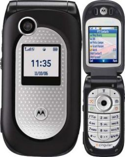 Brand New Motorola V365 Unlocked ATT Flip Phone Black
