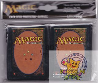 80 Ultra Pro Magic's Card Back Deck Protectors Card Sleeves Magic Card Back MTG