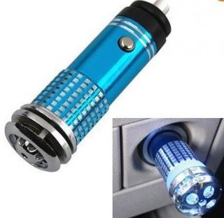 Mini Auto Car Fresh Air Purifier Ionizer Oxygen Bar Fast Shipping