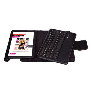 Removable Bluetooth Keyboard Leather Case Cover for Kindle Fire HDX 7 2013 7""