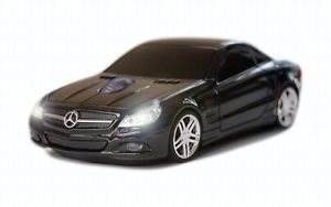 Road Mice Mercedes Benz SL550 Car Wireless Computer Mouse Black