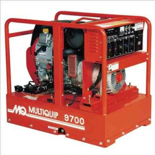 Multiquip 9,700 Watt Honda Portable Gasoline Generator with Recoil or Electric Start   GA97HE