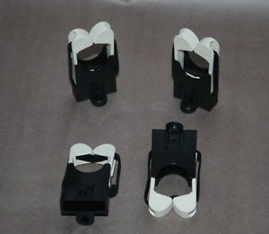 Lot of 4 Wall Mount Fishing Rod Holder