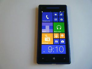 HTC 8x Blue Unlocked at T Windows 8 Phone Beats Audio Excellent 866