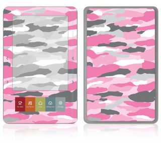 BZ13 Barnes Noble Nook Color Touch Decal Skin Sticker Cover Pink Camo