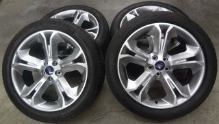 "1000 Mile Full Set 4 Factory Ford Taurus Sho 20 x 8 "" Wheels and Michelin Tires"