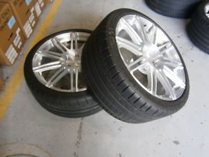 Niche Wheels Michelin Tires for Mercedes Benz SLK55 2005THRU 2013 Set of Four
