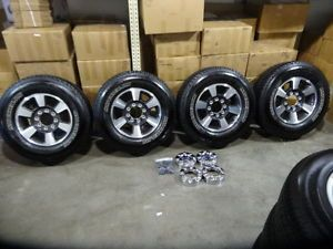 Ford F 250 F 350 Superduty 18 inch Factory Wheels Rims Michelin Tires 8 Lug