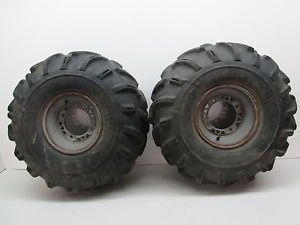 "97 Polaris Xplorer 500 4x4 Rear Wheels Rims 26"" Goodyear Tires"