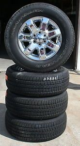 "18"" 2013 Ford F150 Pickup Factory Alloy Wheels with Goodyear Tires Set of 4"