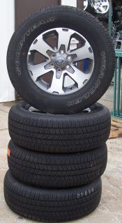 "18"" 2010 2013 Ford F150 Pickup Factory Alloy Wheels with Goodyear Tires Set of 4"