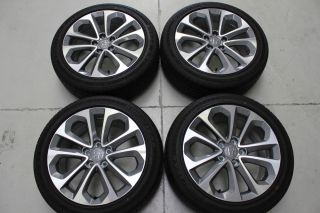 2014 Honda Accord Sport Wheels by Enkei and Factory 235 45 18 Goodyear Tires