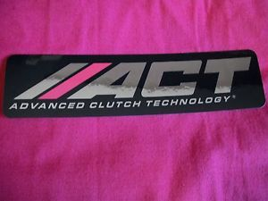 Act Advanced Clutch Technology Sticker Decal Hot Rods Classic Car