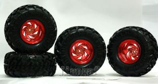 4X RC 1 10 Monster Bigfoot Car Truck Wheel Tyre Tire W5T6Y