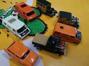 Vintage AFX Slot Cars 57 Chevy Nomad Ford F100 Hot Rods Extra Bodies