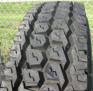 New Tire Recap 11 R 22 5 CSD 890 Capitol Semi Truck Retread Volvo Peterbilt