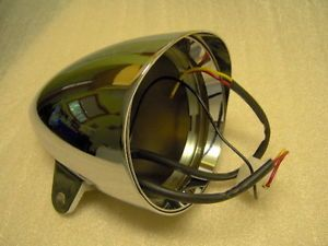 Harley Davidson Chrome Headlamp Headlight Assembly Parts Headlight Shell
