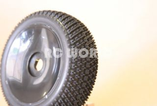 RC 1 8 Car Buggy Truck Tires Wheels Rims Package Dish