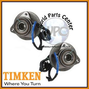 TIMKEN 2 Front Wheel Bearing Hub Assembly Ford Madza