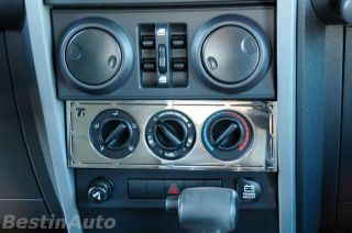 T Rex 10488 Control Panel Trim 2009 07 08 Jeep Wrangler